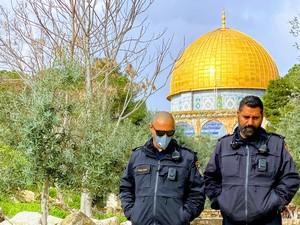 Temple Mount on March 17, 2020